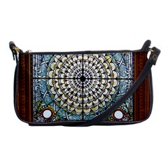 Stained Glass Window Library Of Congress Shoulder Clutch Bags by Nexatart