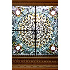 Stained Glass Window Library Of Congress 5 5  X 8 5  Notebooks by Nexatart
