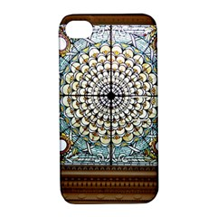 Stained Glass Window Library Of Congress Apple Iphone 4/4s Hardshell Case With Stand by Nexatart