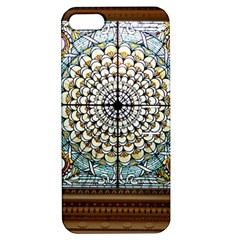 Stained Glass Window Library Of Congress Apple Iphone 5 Hardshell Case With Stand by Nexatart