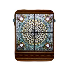 Stained Glass Window Library Of Congress Apple Ipad 2/3/4 Protective Soft Cases by Nexatart