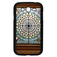 Stained Glass Window Library Of Congress Samsung Galaxy Grand Duos I9082 Case (black) by Nexatart