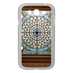 Stained Glass Window Library Of Congress Samsung Galaxy Grand Duos I9082 Case (white) by Nexatart
