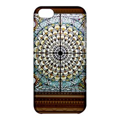 Stained Glass Window Library Of Congress Apple Iphone 5c Hardshell Case by Nexatart