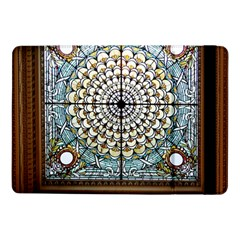 Stained Glass Window Library Of Congress Samsung Galaxy Tab Pro 10 1  Flip Case by Nexatart