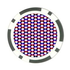 Star Pattern Poker Chip Card Guard by Nexatart