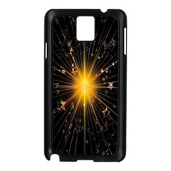 Star Christmas Advent Decoration Samsung Galaxy Note 3 N9005 Case (black) by Nexatart