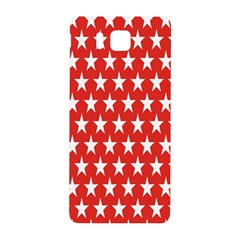 Star Christmas Advent Structure Samsung Galaxy Alpha Hardshell Back Case by Nexatart