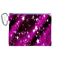 Star Christmas Sky Abstract Advent Canvas Cosmetic Bag (xl) by Nexatart