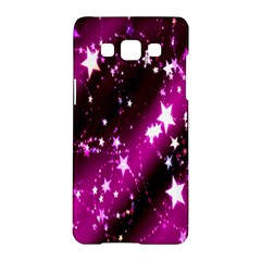 Star Christmas Sky Abstract Advent Samsung Galaxy A5 Hardshell Case  by Nexatart