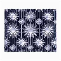 Stars Patterns Christmas Background Seamless Small Glasses Cloth by Nexatart