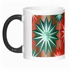 Stars Patterns Christmas Background Seamless Morph Mugs by Nexatart