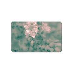 Surreal Floral Magnet (name Card) by dflcprints