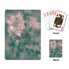 Surreal Floral Playing Card by dflcprints