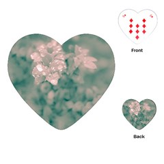 Surreal Floral Playing Cards (heart)  by dflcprints