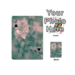 Surreal Floral Playing Cards 54 (mini)  by dflcprints