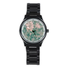 Surreal Floral Stainless Steel Round Watch by dflcprints