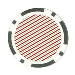Stripes Striped Design Pattern Poker Chip Card Guard by Nexatart