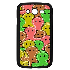Sweet Dessert Food Gingerbread Men Samsung Galaxy Grand Duos I9082 Case (black) by Nexatart