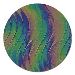 Texture Abstract Background Magnet 5  (round) by Nexatart