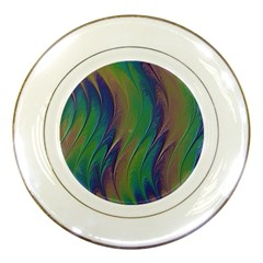 Texture Abstract Background Porcelain Plates by Nexatart