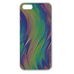Texture Abstract Background Apple Seamless Iphone 5 Case (clear) by Nexatart