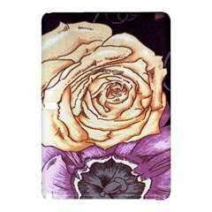 Texture Flower Pattern Fabric Design Samsung Galaxy Tab Pro 12.2 Hardshell Case by Nexatart