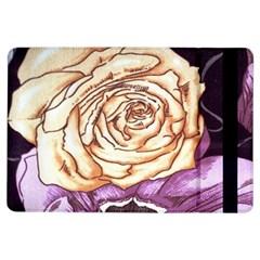 Texture Flower Pattern Fabric Design Ipad Air Flip by Nexatart