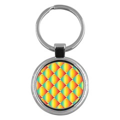 The Colors Of Summer Key Chains (Round)  by Nexatart