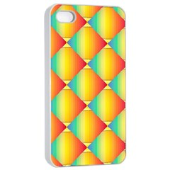 The Colors Of Summer Apple iPhone 4/4s Seamless Case (White)