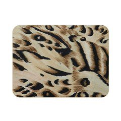Tiger Animal Fabric Patterns Double Sided Flano Blanket (mini)  by Nexatart