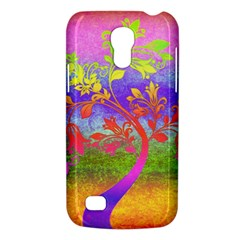 Tree Colorful Mystical Autumn Galaxy S4 Mini by Nexatart