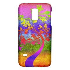 Tree Colorful Mystical Autumn Galaxy S5 Mini by Nexatart