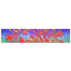 Tree Colorful Mystical Autumn Flano Scarf (small) by Nexatart