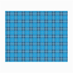 The Checkered Tablecloth Small Glasses Cloth by Nexatart