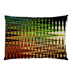 Triangle Patterns Pillow Case by Nexatart
