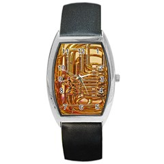 Tuba Valves Pipe Shiny Instrument Music Barrel Style Metal Watch by Nexatart
