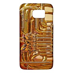 Tuba Valves Pipe Shiny Instrument Music Galaxy S6 by Nexatart