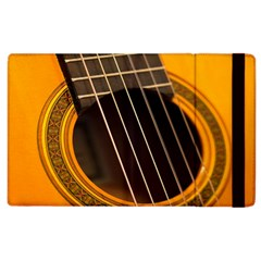 Vintage Guitar Acustic Apple Ipad 2 Flip Case by Nexatart