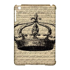 Vintage Music Sheet Crown Song Apple Ipad Mini Hardshell Case (compatible With Smart Cover) by Nexatart