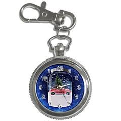 Winter Snow Ball Snow Cold Fun Key Chain Watches by Nexatart