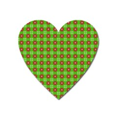 Wrapping Paper Christmas Paper Heart Magnet by Nexatart