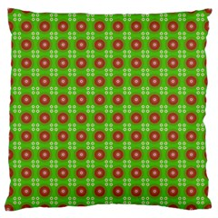 Wrapping Paper Christmas Paper Large Cushion Case (one Side)