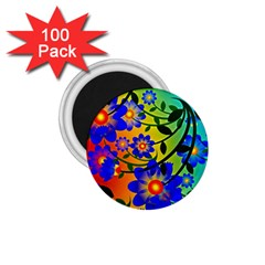 Abstract Background Backdrop Design 1 75  Magnets (100 Pack)  by Amaryn4rt