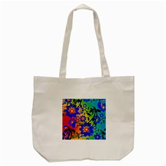Abstract Background Backdrop Design Tote Bag (cream) by Amaryn4rt