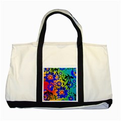 Abstract Background Backdrop Design Two Tone Tote Bag by Amaryn4rt