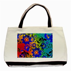 Abstract Background Backdrop Design Basic Tote Bag (two Sides) by Amaryn4rt