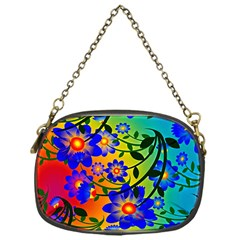 Abstract Background Backdrop Design Chain Purses (one Side)  by Amaryn4rt