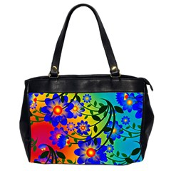 Abstract Background Backdrop Design Office Handbags (2 Sides)  by Amaryn4rt