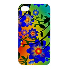 Abstract Background Backdrop Design Apple Iphone 4/4s Hardshell Case by Amaryn4rt